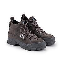 Ботинки женские, цвет серый, размер 38