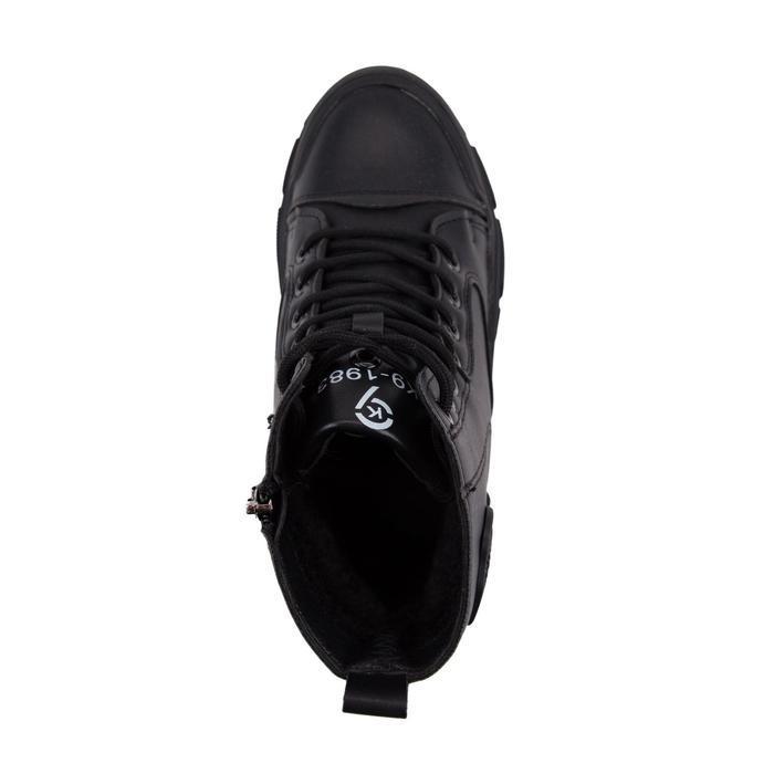 Ботинки женские, цвет чёрный, размер 36 - фото 4