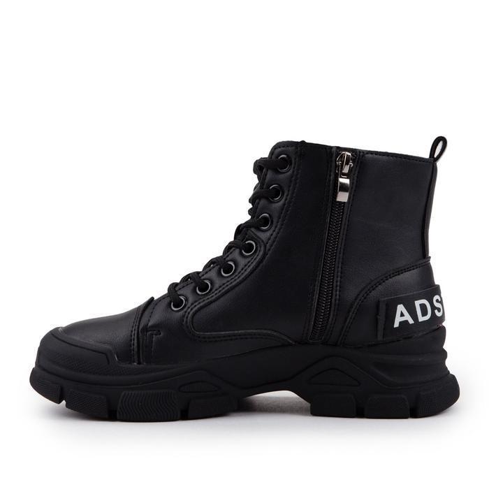Ботинки женские, цвет чёрный, размер 38 - фото 2