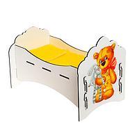 Кроватка для куклы 'Мишутка'