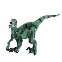 Фигурка динозавра 'Раптор', длина 26 см, мягкая