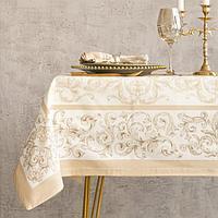 Набор столовый Этель 'Классика', скатерть 110 x 150 см, салфетки 40 x 40 см, 4 шт., хлопок 100