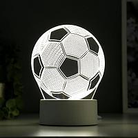 Светильник 'Футбольный мяч' от сети 9,5x12,5x16 см