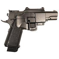 Пистолет страйкбольный Galaxy Colt Hi-Capa G.6+, черный, 6 мм