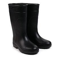 Сапоги женские из ЭВА, цвет черный, размер 40-41