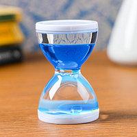 Песочные часы 'Бордерия', гелевые, 7 х 5 см, на 1 минуту, микс