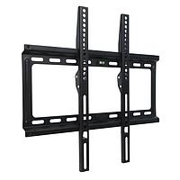 Кронштейн Kromax IDEAL-3, для ТВ, фиксированный, 22-65', 23 мм от стены, до 50 кг, черный