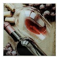 Картина на стекле 'Виноград' 30х30см