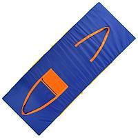 Сумка - коврик для спорта и отдыха 2 в 1, цвет синий