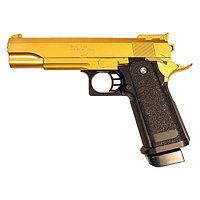 Пистолет страйкбольный Galaxy Colt Hi-Capa G.6GD, золотистый, 6 мм