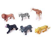 Набор животных 'Звери Африки', 6 фигурок
