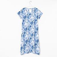 Платье женское, цвет голубой, размер 50