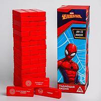 Игра Падающая башня 'Для настоящих героев', Человек-паук, 54 бруска
