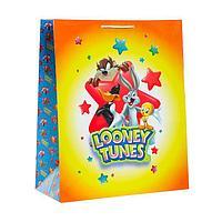 Пакет подарочный Looney Tunes-1, большой, 335х406х155 мм