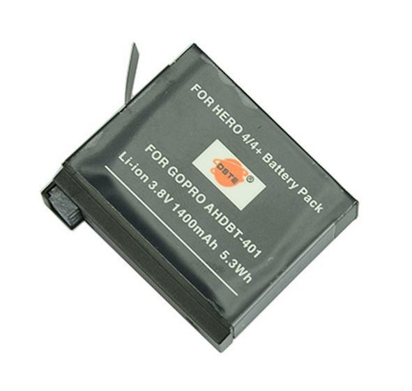 Аккумуляторы на GoPro hero 4 1400 mAh/ 3.8V / 5.3Wh