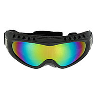 Очки для езды на мототехнике, стекло хамелеон, черный