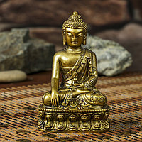 Нэцке полистоун бронза 'Будда на медитации' 12,1х7,5х5,7 см