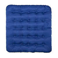 Подушка на стул Уют синий 40х40см лузга гречихи, грета хл35, пэ65