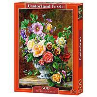 Пазл 'Цветы в вазе', 500 элементов