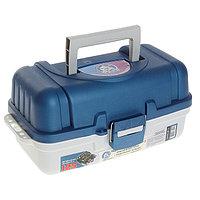 Ящик рыболовный ЯР-2, размер 37х19х18 см, 2 лотка