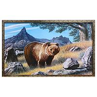 Картина 'Медведь' 67х107 см рамка МИКС