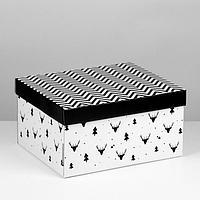 Складная коробка 'Уютный дом', 31,2 х 25,6 х 16,1 см