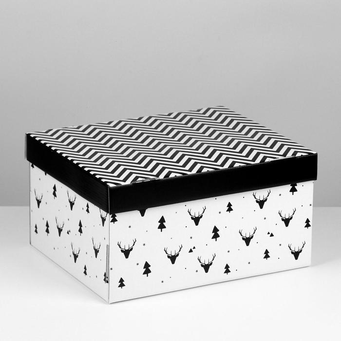 Складная коробка 'Уютный дом', 31,2 х 25,6 х 16,1 см - фото 1