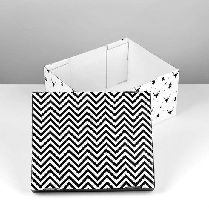Складная коробка 'Уютный дом', 31,2 х 25,6 х 16,1 см - фото 2