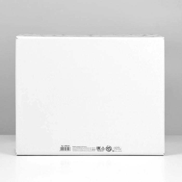 Складная коробка 'Уютный дом', 31,2 х 25,6 х 16,1 см - фото 3
