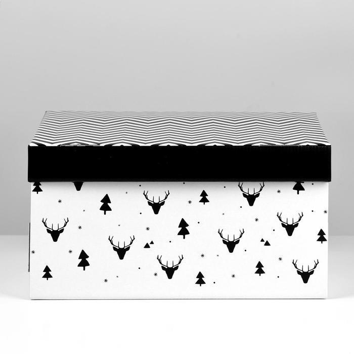Складная коробка 'Уютный дом', 31,2 х 25,6 х 16,1 см - фото 4