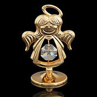 Сувенир 'Ангел', с кристаллом Сваровски, 6,5 см
