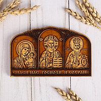 Триптих 'Молитва Водителя', 3 иконы