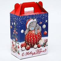 Подарочная коробка 'С Новым Годом!', Me To You, 16 х 21 х 10 см
