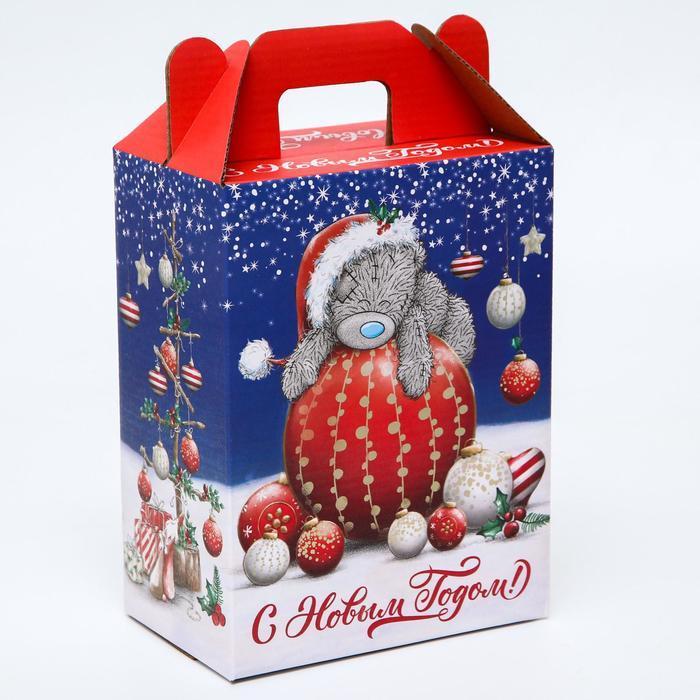 Подарочная коробка 'С Новым Годом!', Me To You, 16 х 21 х 10 см - фото 1
