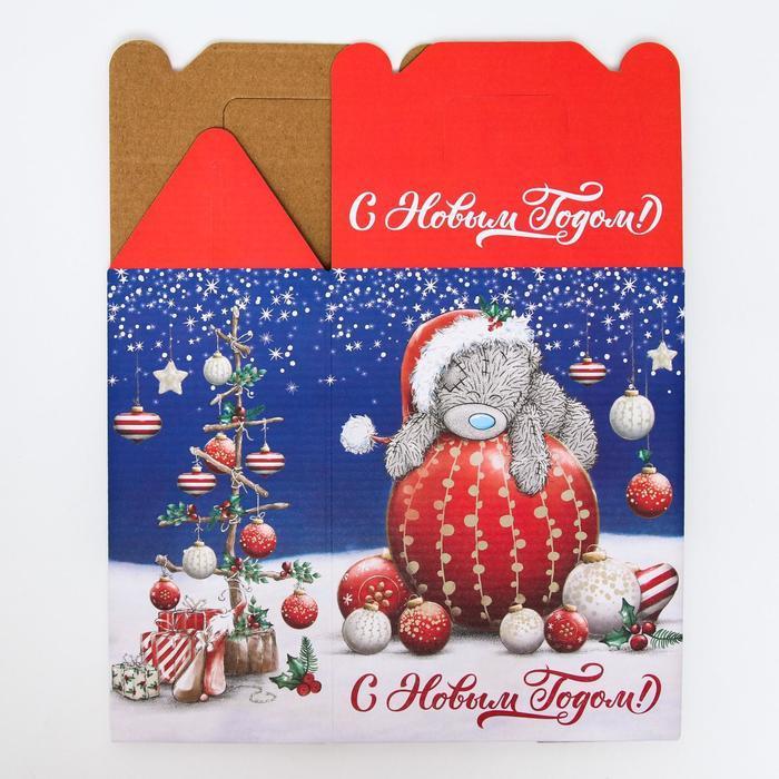 Подарочная коробка 'С Новым Годом!', Me To You, 16 х 21 х 10 см - фото 3