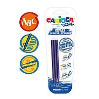 Набор стержней для гелевой ручки 'пиши-стирай' Carioca 'OOPS', чернила синие, 3 шт., 111 мм, 0,7 мм, блистер