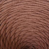 Трикотажная лента 'Лентино' лицевая 100м/320±15гр, 7-8 мм (какао) МИКС