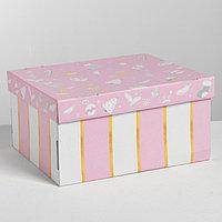 Складная коробка 'Нежность', 31,2 x 25,6 x 16,1 см