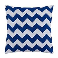 Чехол на подушку 'Этель' Дарси цв.синий 43*43 см