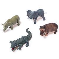 Набор животных 'Звери Африки', 4 фигурок