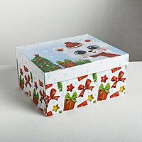 Складная коробка 'Радости и веселья', 31,2 x 25,6 x 16,1 см