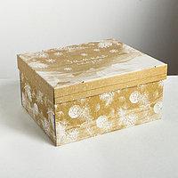Складная коробка 'Зимняя сказка', 31,2 x 25,6 x 16,1 см