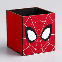 Органайзер для канцелярии Spider-man, Человек-паук, 65 х 70 х 65 мм
