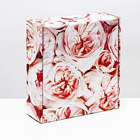 Подарочная коробка 'Нежный букет', 28,5 х 9,5 х 29,5 см (комплект из 5 шт.)