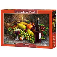 Пазл 1000 элементов 'Фрукты и вино'