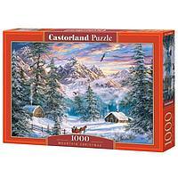 Пазл 1000 элементов 'Зимой в горах'