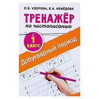 'Тренажёр по чистописанию. 1 класс. Добукварный период', Узорова О. В., Нефедова Е. А.