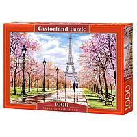 Пазл 1000 элементов 'Романтическая прогулка по Парижу'
