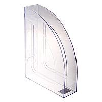 Лоток для бумаг, вертикальный, 'Респект', прозрачный
