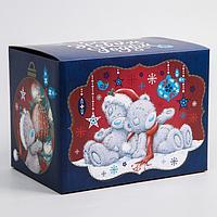 Коробка подарочная складная 'С Новым Годом', Me To You, 20 x 15 x 14 см